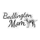 Bedlington Terrier Mom by tribbledesign