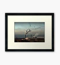 Air pur Framed Print
