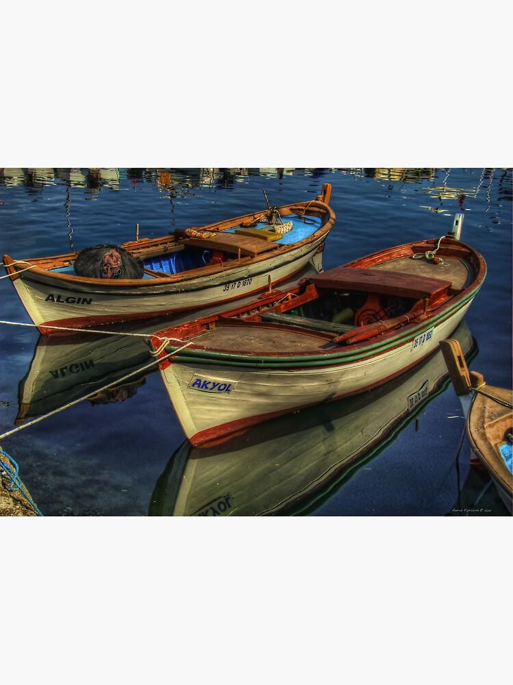 Barche a Karaburun by rapis60