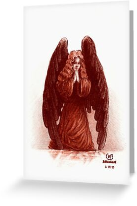 Angel of Prayer by Wieslaw Borkowski Jr.
