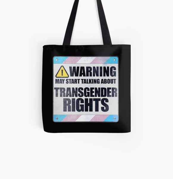 Trans is Beautiful Eco Tote Bag