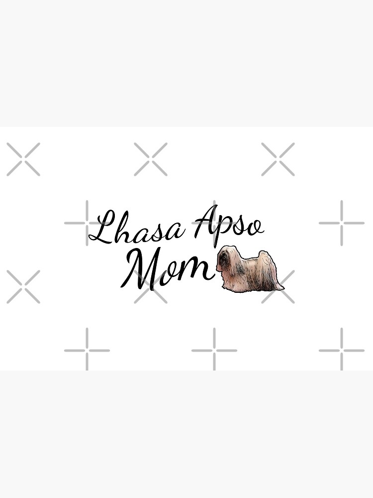 Lhasa Apso Mom by tribbledesign