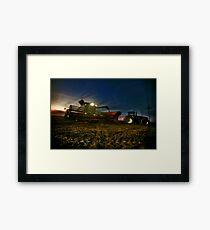 Night Harvest Framed Print