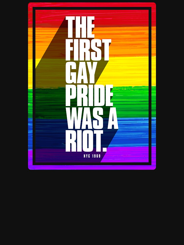 The First Gay Pride Was A Riot by valador