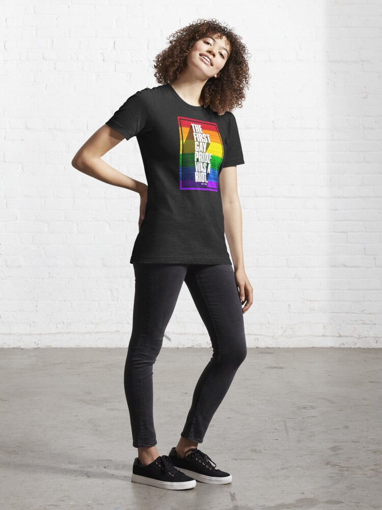 Alternate view of The First Gay Pride Was A Riot Essential T-Shirt
