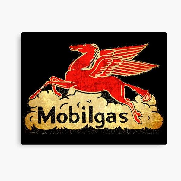 Mobil Gas Pegasus Canvas Print