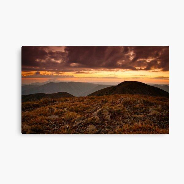 Mt Feathertop sunrise Canvas Print