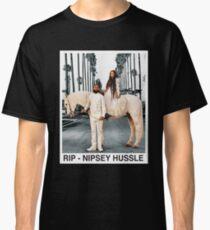 RIP - Nipsey Hussle Camiseta clásica
