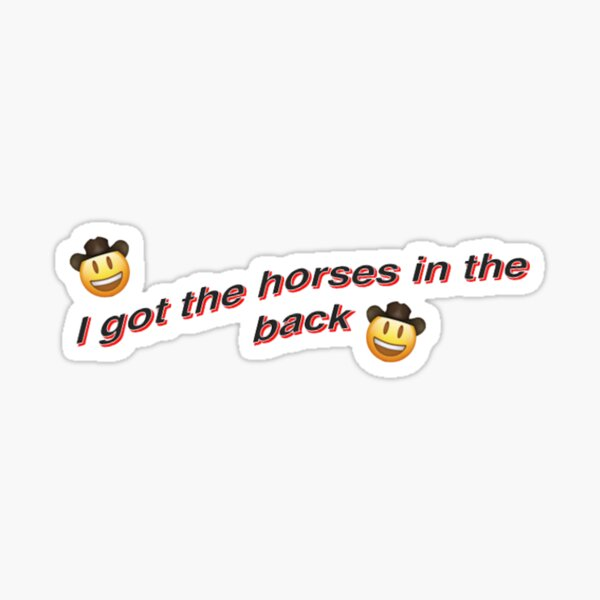 old town road lil nas x Sticker
