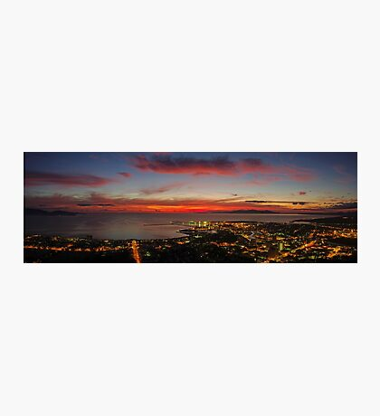 Townsville Sunrise from Castle Hill Photographic Print