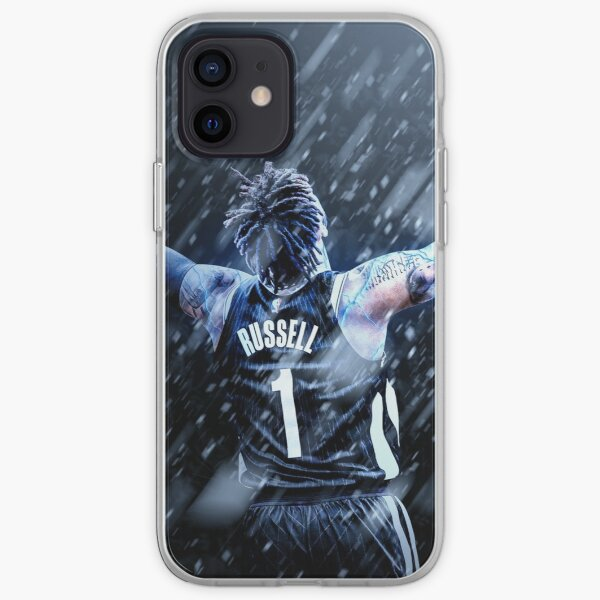 D'Angelo Russell Brooklyn Sports Art iPhone Soft Case
