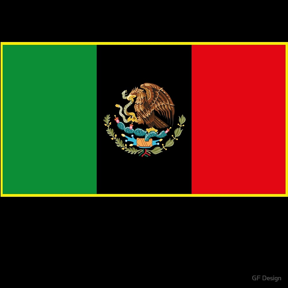 afro mexican flag