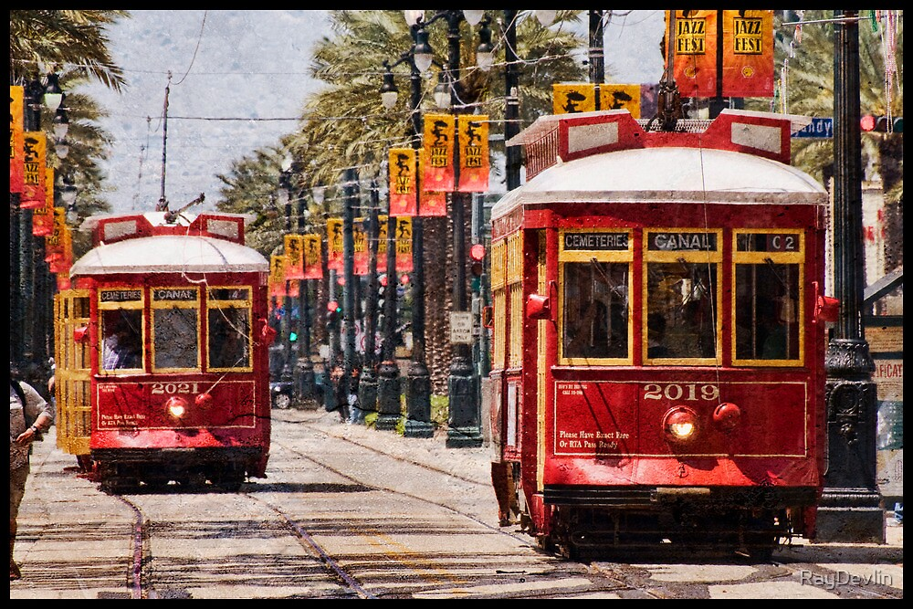 Return of the Red Streetcars by RayDevlin