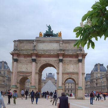 The Arc de Triomphe du Carrousel & The Louvre by Michaelm43