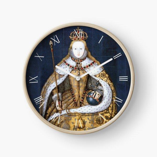 Elizabeth I Coronation Portrait Horloge