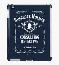 World's Only Consulting Detective iPad Case/Skin