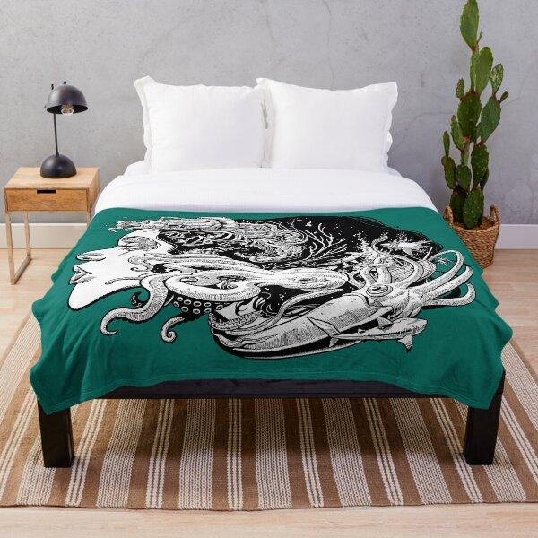 Poseidon's Mistress Alternate Throw Blanket