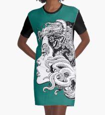 Poseidon's Mistress Alternate Graphic T-Shirt Dress