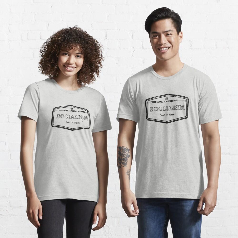 100% American Socialism  Essential T-Shirt