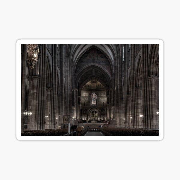 Cathédrale de Strasbourg Sticker