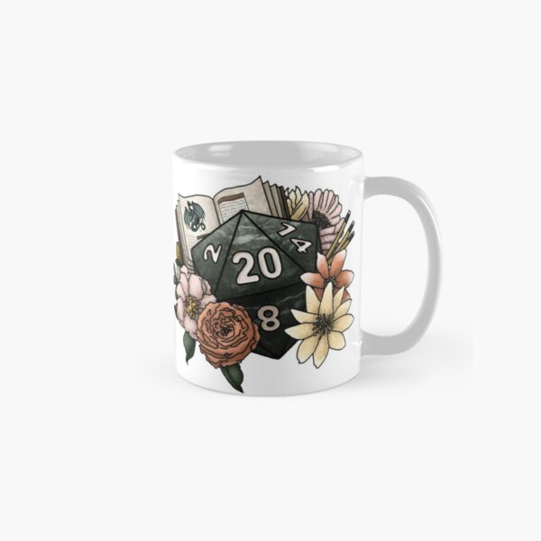 Dungeon Master D20 - Tabletop Gaming Dice Classic Mug