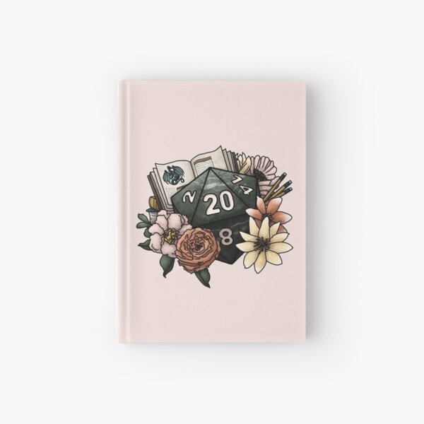 Dungeon Master D20 - Tabletop Gaming Dice Hardcover Journal