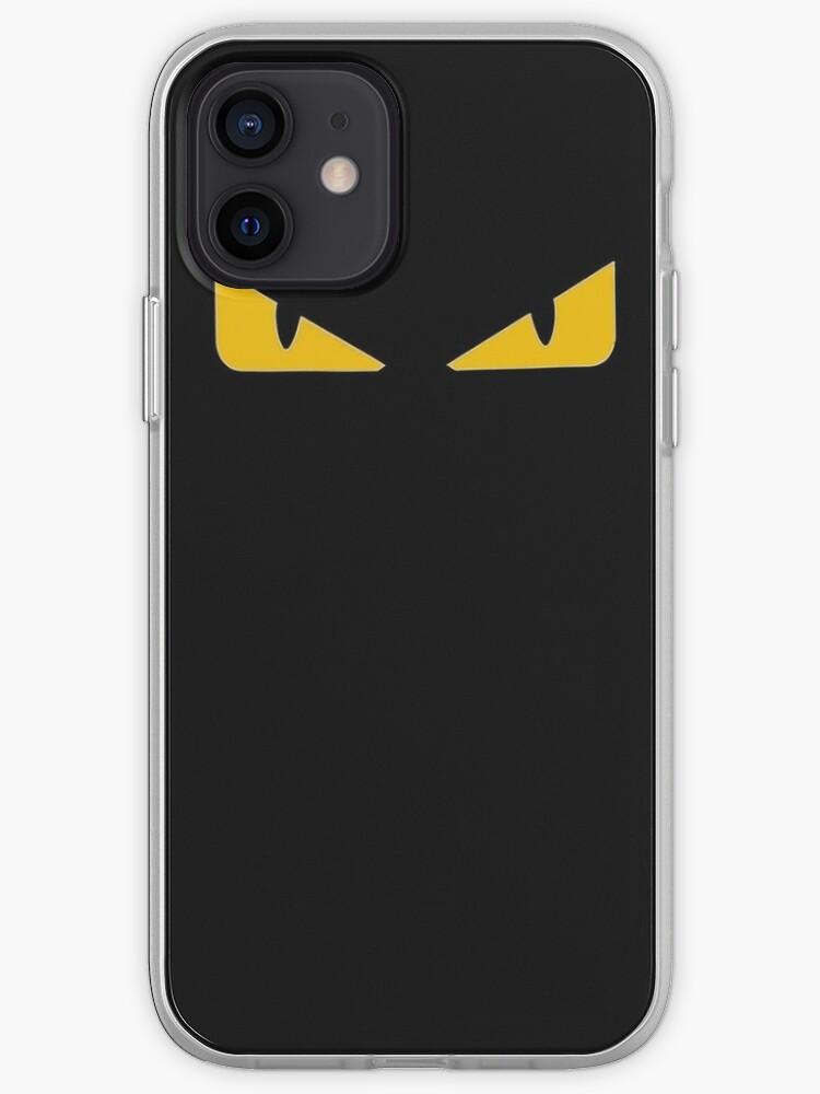 Fendi noir   Coque iPhone