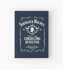 World's Only Consulting Detective Hardcover Journal