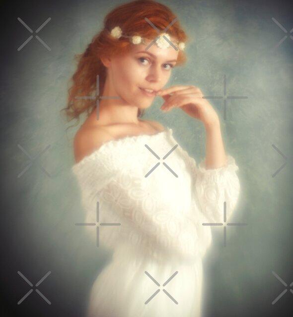 Engel in weiß von Mel Brackstone
