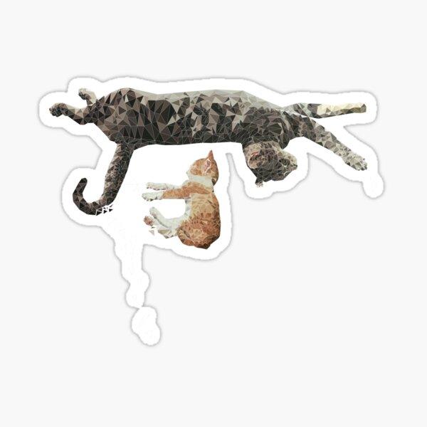 Kitten Nap Sticker