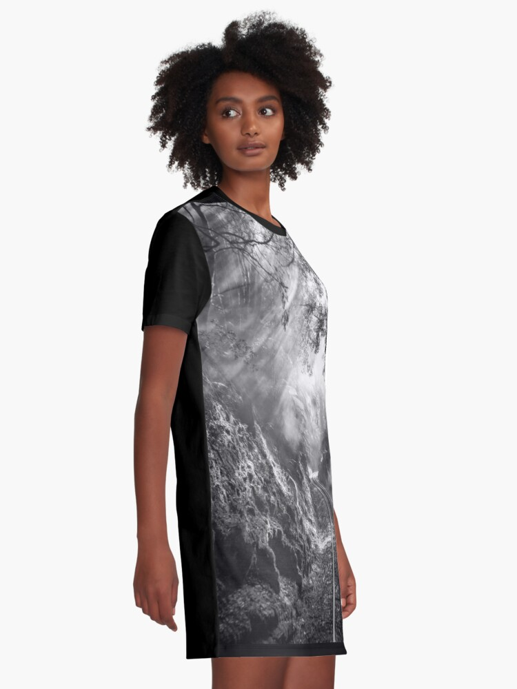 Alternate view of On track Graphic T-Shirt Dress