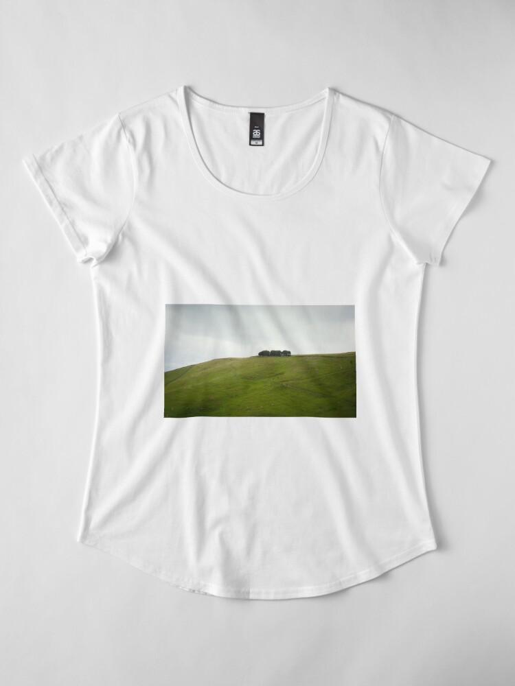 Alternate view of On the ridge Premium Scoop T-Shirt