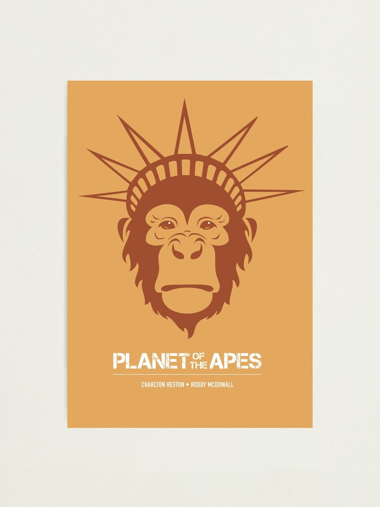 Alternate view of Planet of the Apes Photographic Print