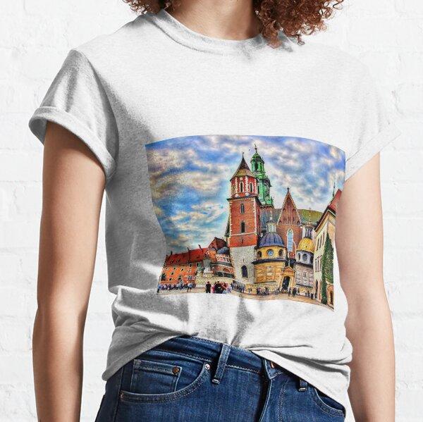 Cracow wawel castle Classic T-Shirt