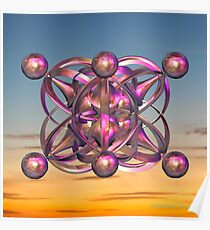 UFPO ( Unidentified Flying Pink Object) Poster