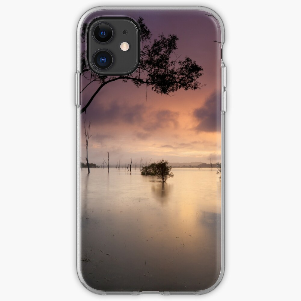 Flooded valley iPhone Case & Cover