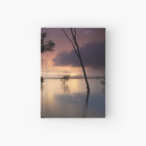 Flooded valley Hardcover Journal