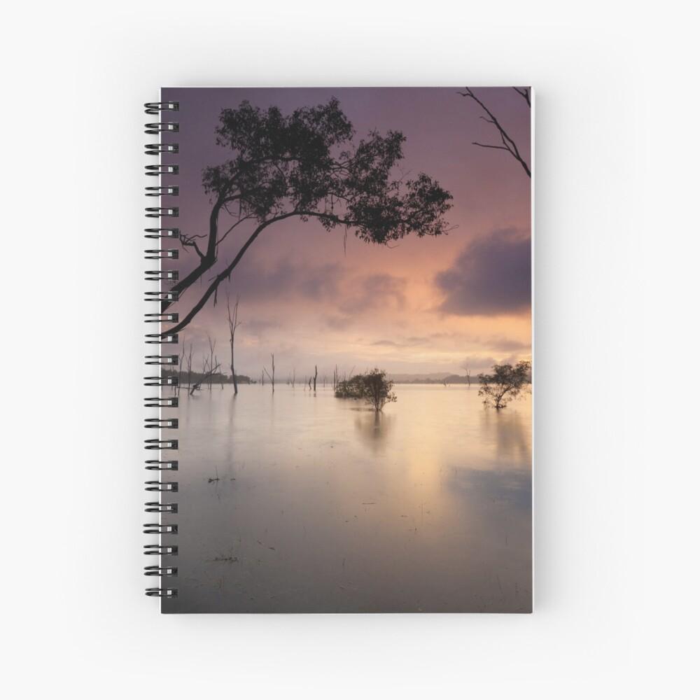 Flooded valley Spiral Notebook