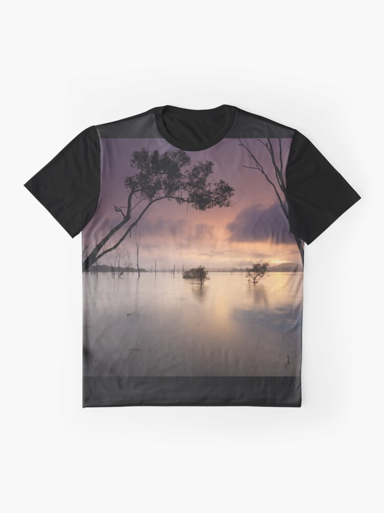 Alternate view of Flooded valley Graphic T-Shirt