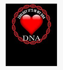 Zoology It's In My DNA - Gift For Zoologist Whose Profession is or learning Zoology Fotodruck