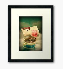 The Little Dreamer Framed Print