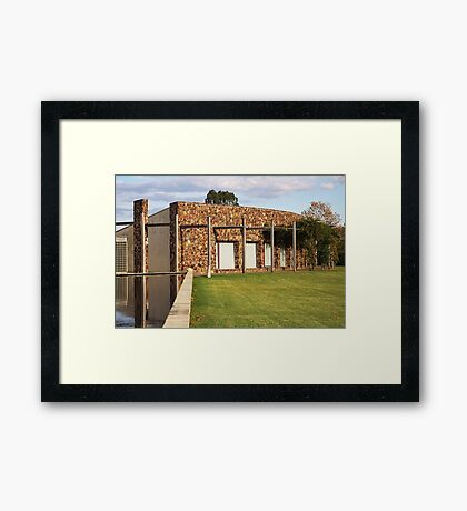 Relax on the Lawn Framed Print
