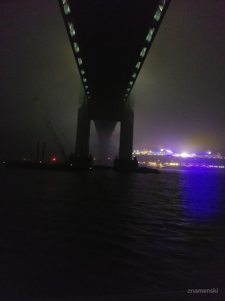 Early #Morning at Verrazzano-Narrows Bridge, #Cable-#stayed #bridge  by znamenski