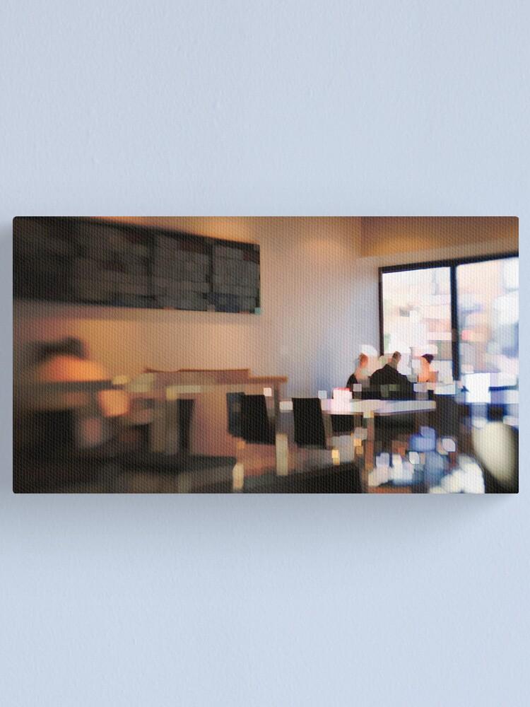 Alternate view of Breakfast meet Canvas Print
