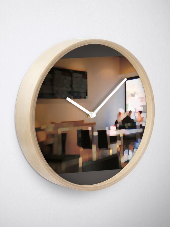 Alternate view of Breakfast meet Clock