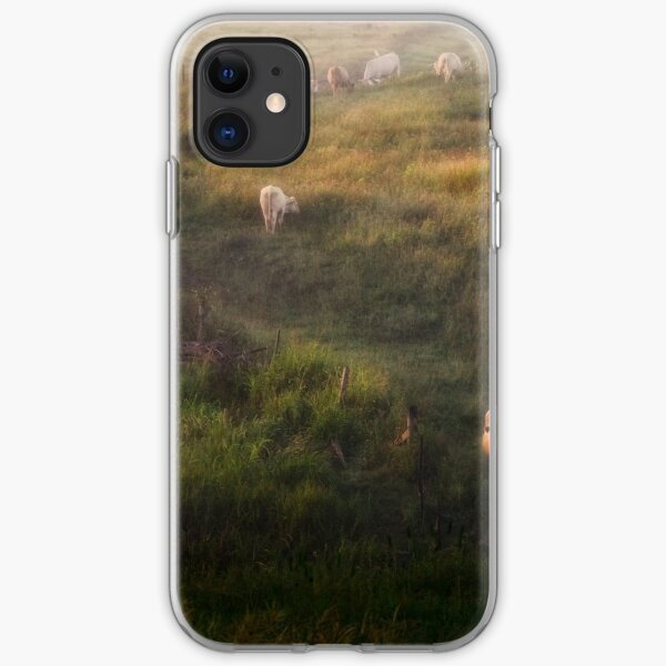 The cows iPhone Soft Case