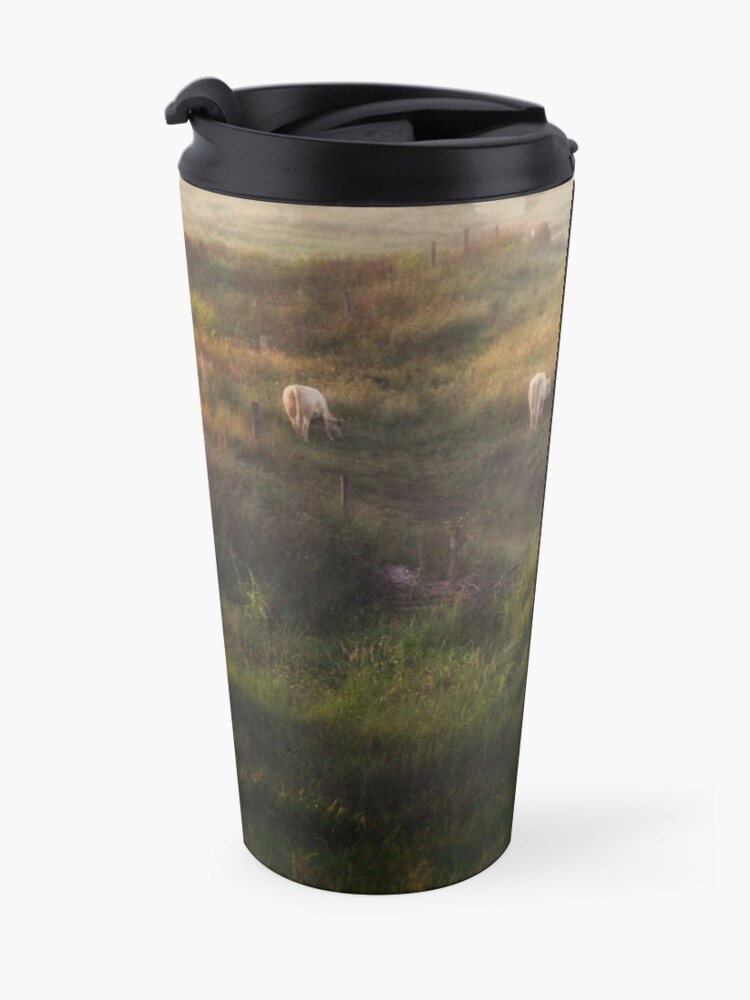 Alternate view of The cows Travel Mug