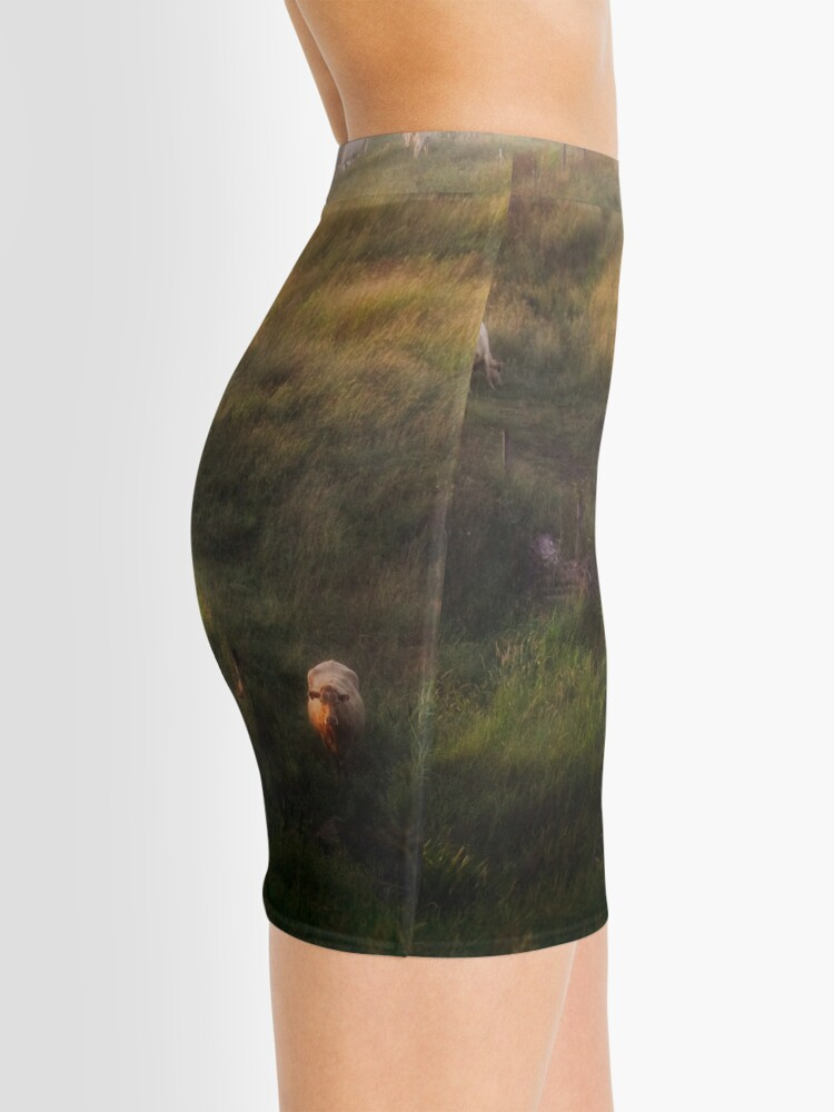 Alternate view of The cows Mini Skirt