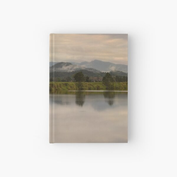It's not easy to walk alone in the country without musing about something. Hardcover Journal