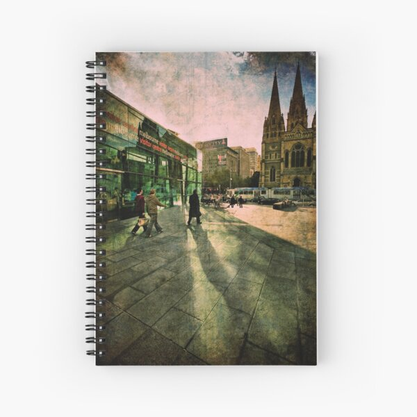 Fascinating Fed Square Spiral Notebook